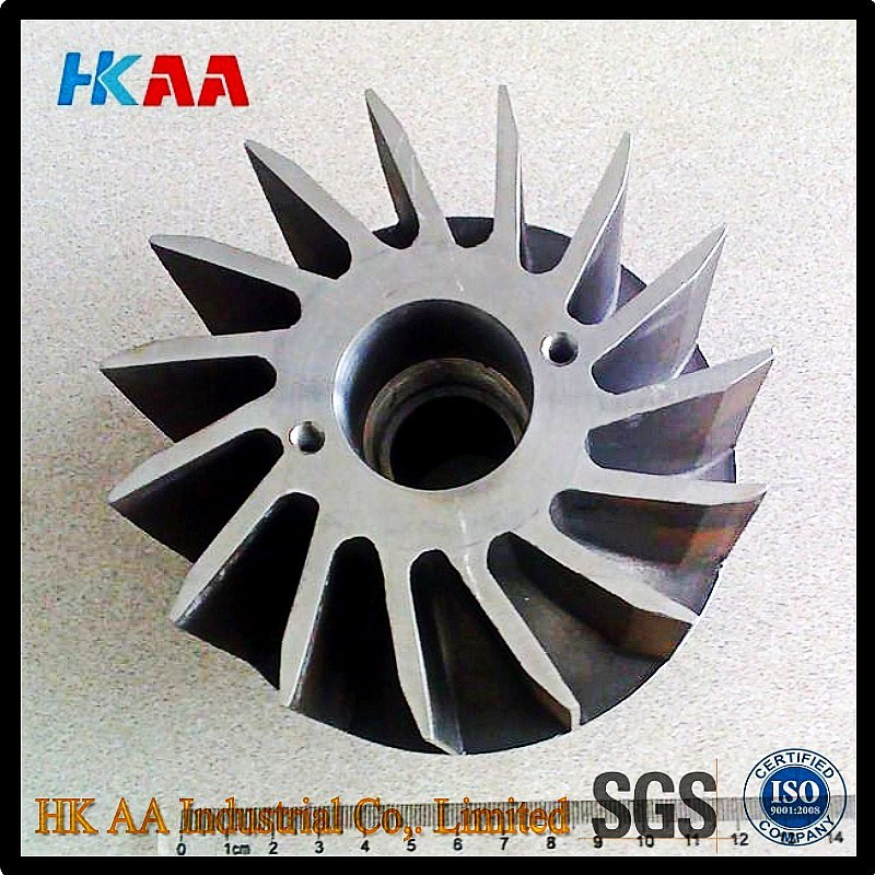 Stainless Steel Investment Casting Impeller Casting for Pump Precision Machining Services
