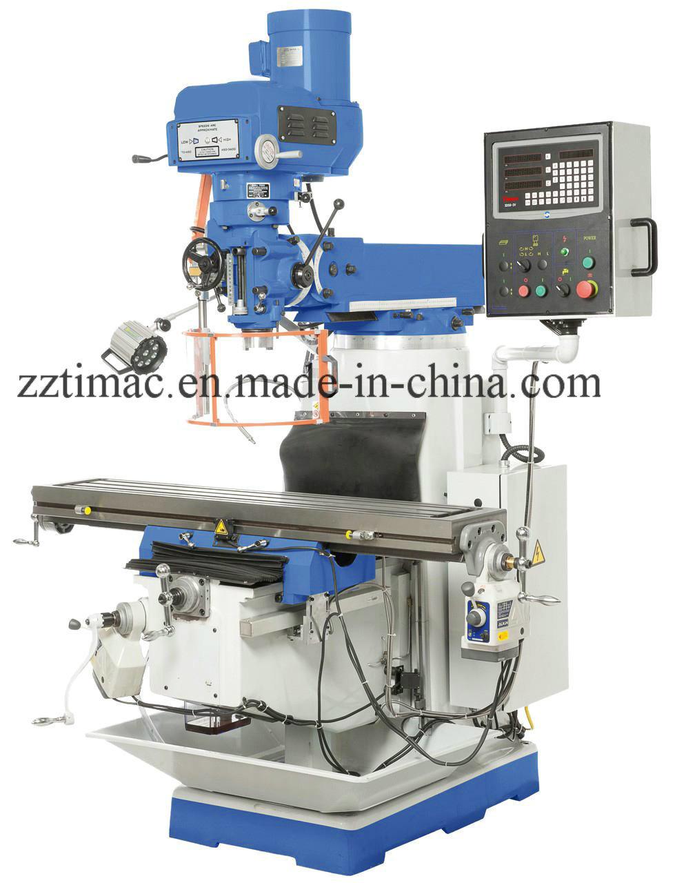 Vertical Turret Milling Machine (4sf/4vf, 4s/4V, 5s/5V)