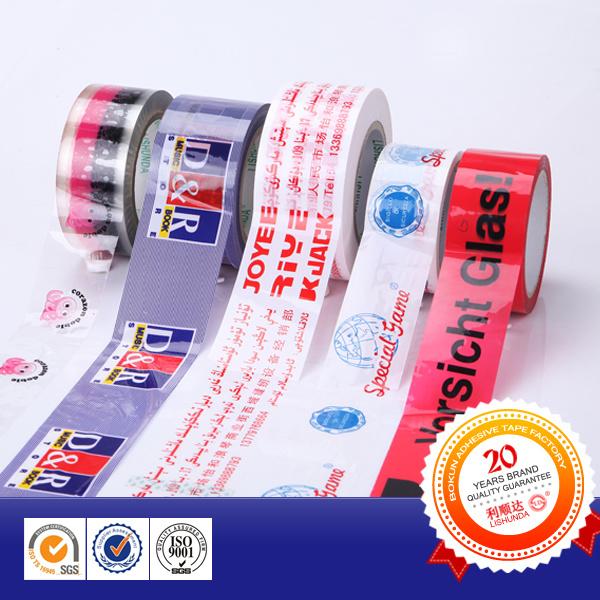 Acrylic Base Printed Adhesive BOPP Packaging Tape