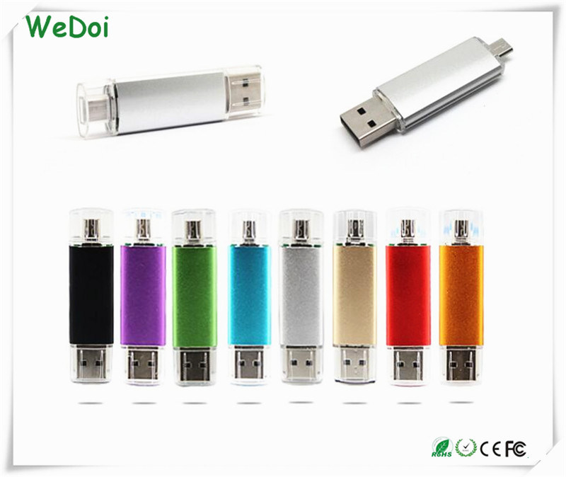 Smart OTG USB Flash Drive with 1 Year Warranty (WY-pH01)