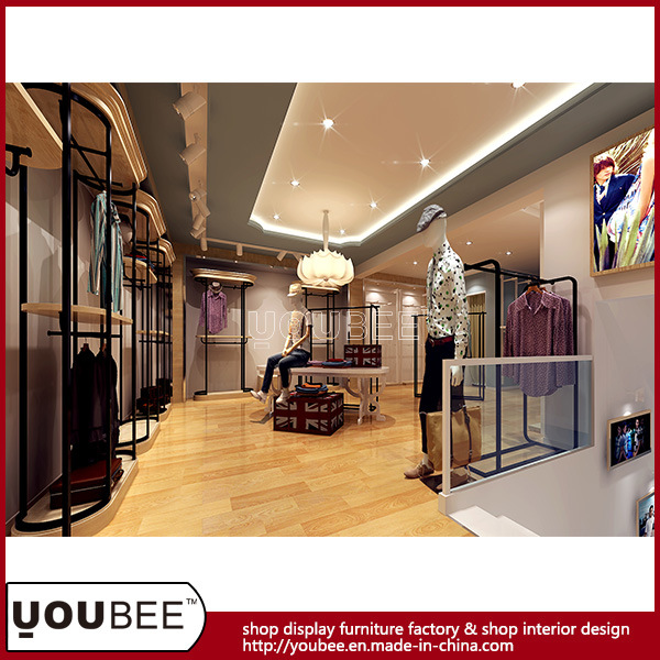 Men/Lady Fashion Garmetn Shop, Store Display, Display Fixture