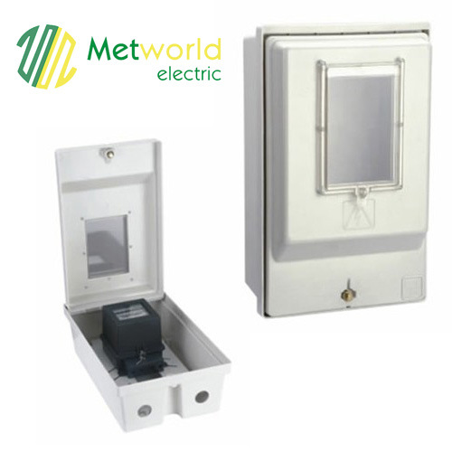 Kwh Meter Box with Transparent Window