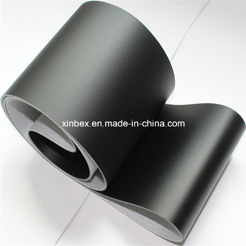 PVC Black Matt Flat Conveyor Belt
