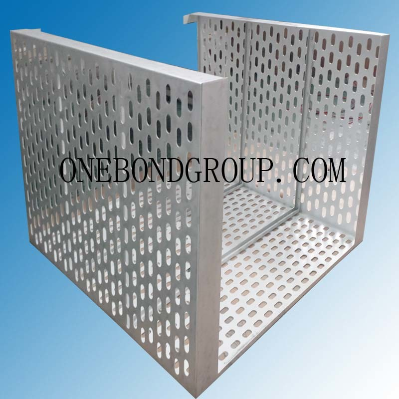 The Design of Regular Perforated Aluminum Panel for Curtain Wall Decoration