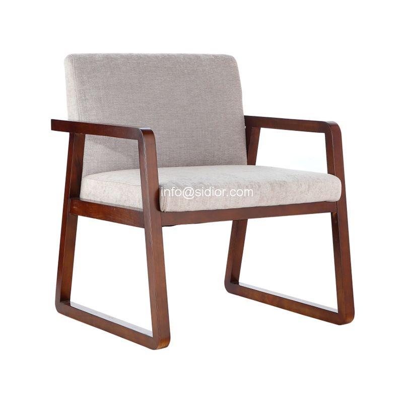(SD-2017) Wooden Morden Hotel Restaurant Furniture Leisure Arm Chair