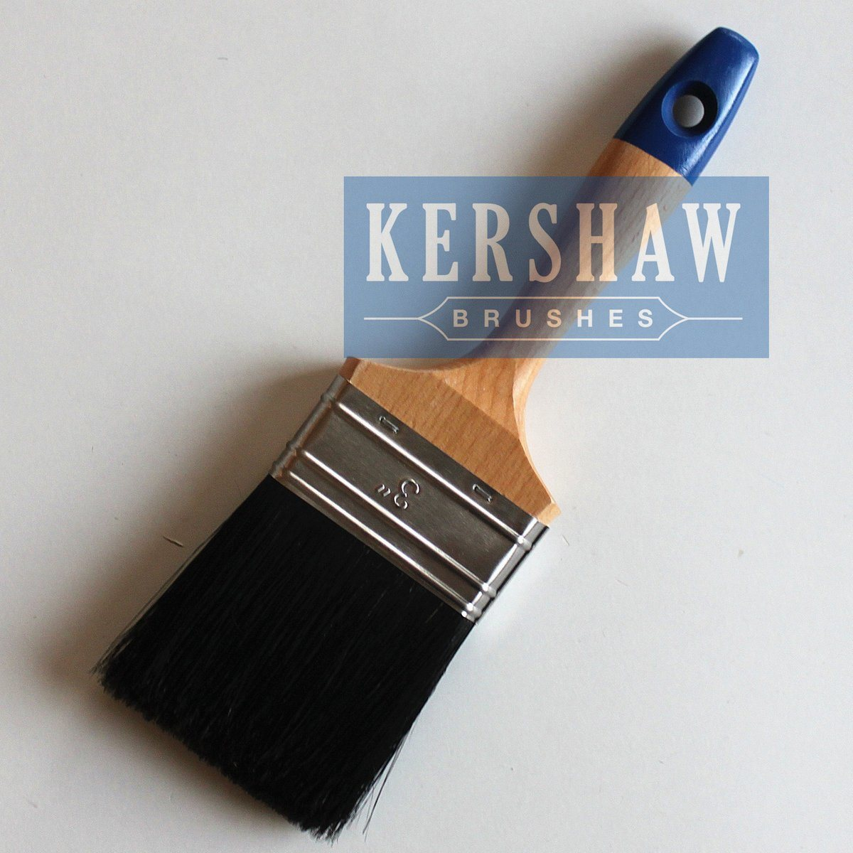 Paint Brush (Flat brush with pure natural black bristle BT-001)