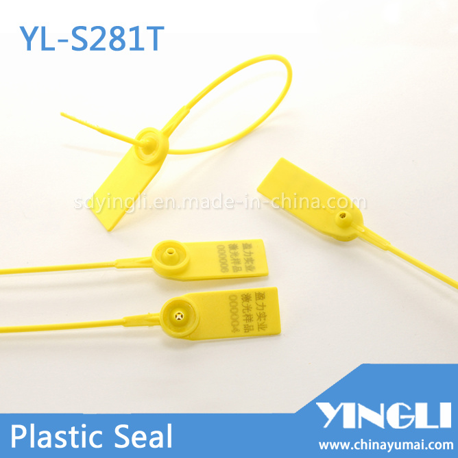 Middle Duty Security Plastic Seal with Metal Insert