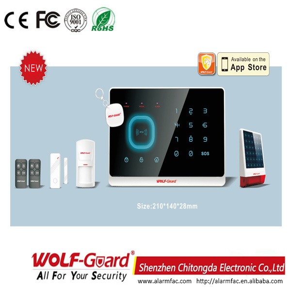 New Arrival Wolf-Guard High Quality Alarm System with Ce Certification (YL-007M2G)
