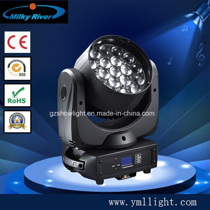 Osram19*12W 4-in-1 RGBW LED Moving Head Beam Light