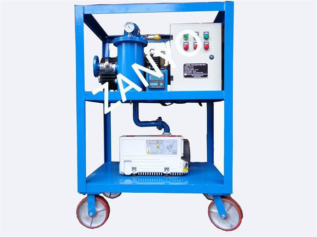 Vacuum Pump System for Transformer and Power Equipment Vacuum Operation