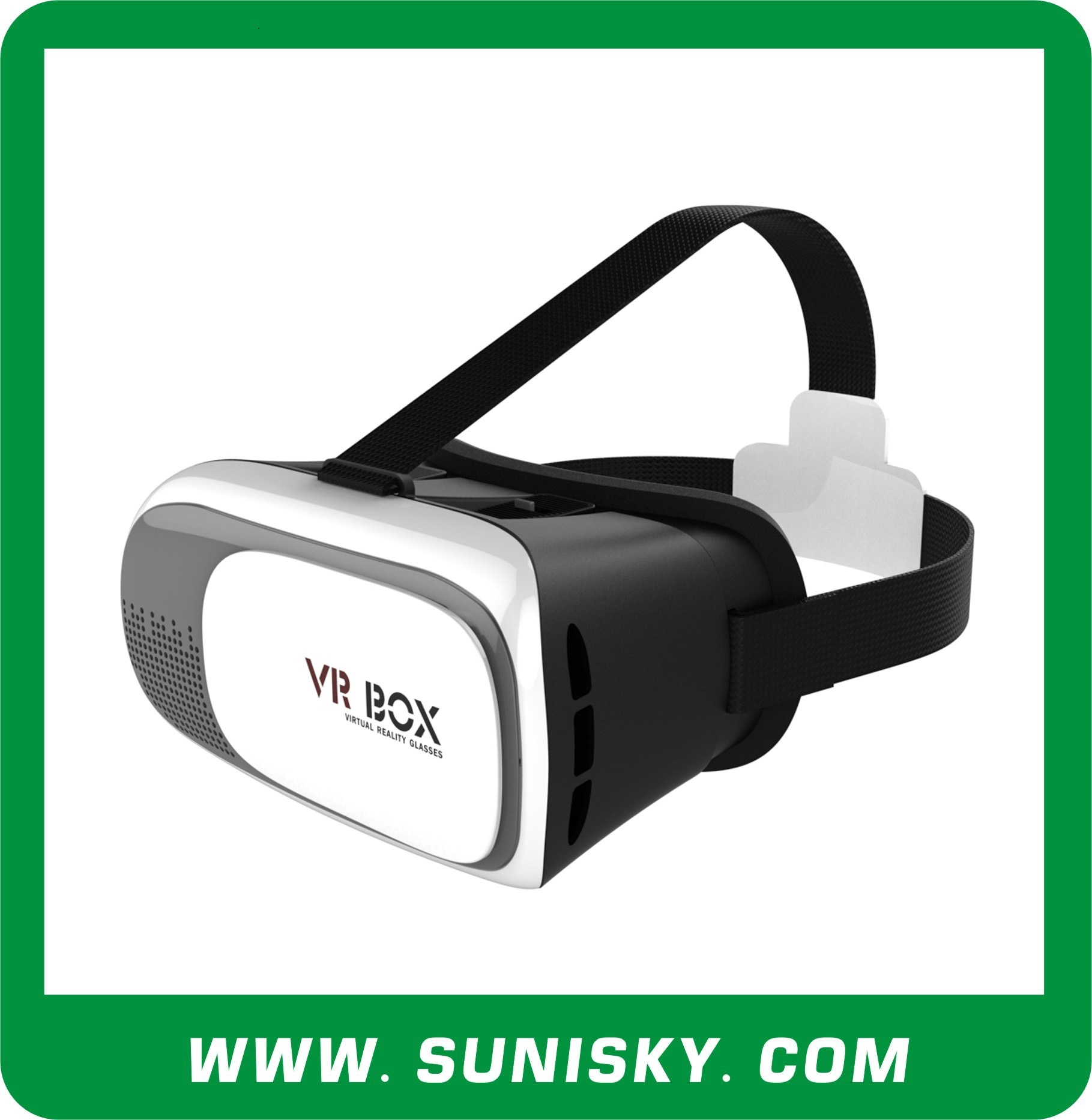 Virtual Reality Headset 3D Glasses Vr Box Vr Glasses (VR-02)