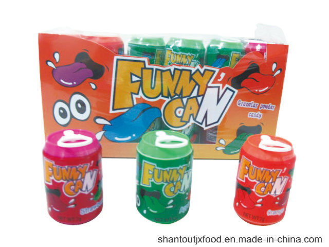 Fun Can Candy Granular Powder Candy