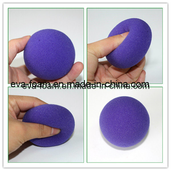 Close-up Magic Street Classical Comedy Trick Red Sponge Ball Props Magic for Halloween Masquerade Ball