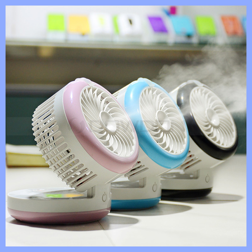 Handheld USB Misting Fan Portable Mini Water Spray Fan With Personal  Cooling Mist Humidifier