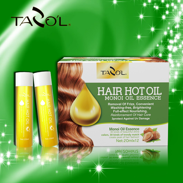 Tazol Hair Hot Oil with Monoi Oil Essence Hair Oil