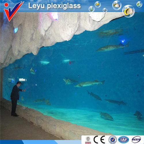Acrylic Plastic Plate for Ocean Aquarium