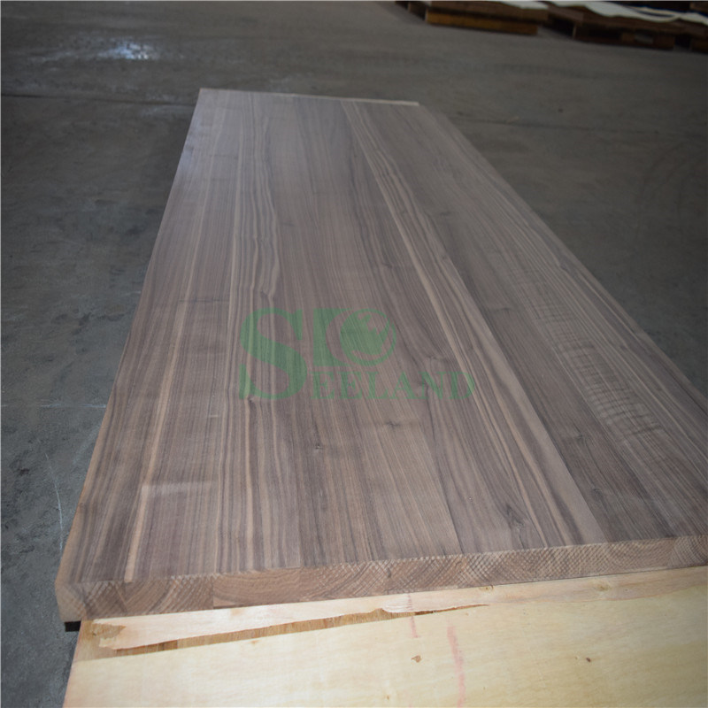 American Walnut Edge Glued Panel for Furniture