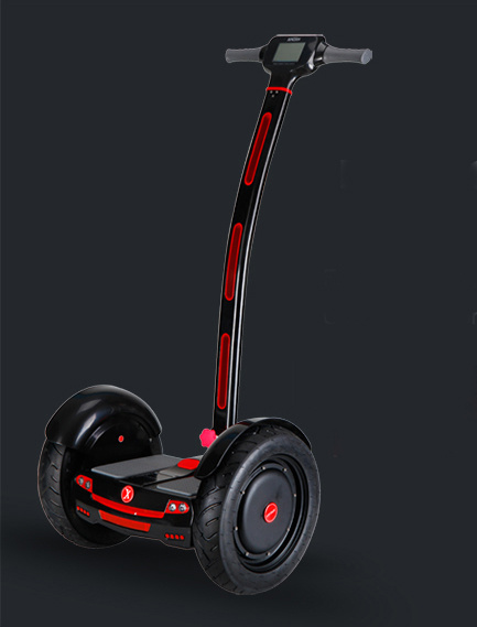 an overview of segway scooter as a new technologically advanced way of transportation The scooter maker is testing a new four-wheel gadget a fairly advanced state of development technology as segway's two.