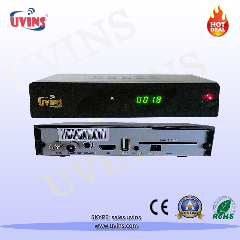 Digital Cable DVB-C PVR MPEG-4 HD STB/Set-Top-Box/Receiver