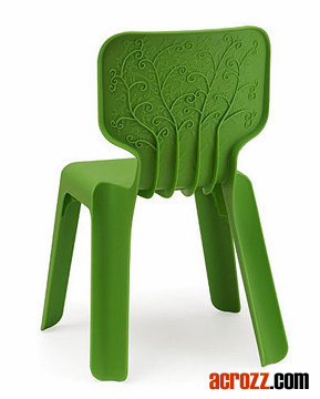 Stackable Kids Children Plastic Furniture Alma Chair