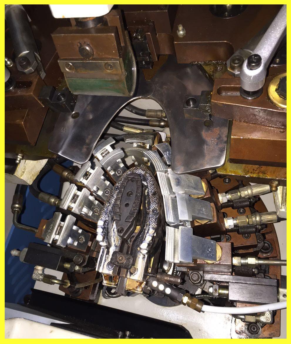 Reconditioned Oil Hydraulic Toe Lasting Machine (CF-738mA)