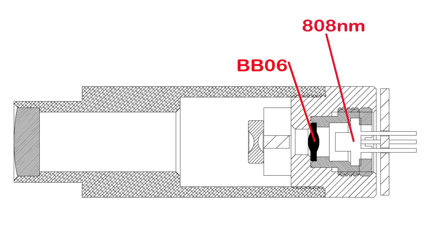 Focus Glass Lens (ASPHERIC DESIGNING) Bb06