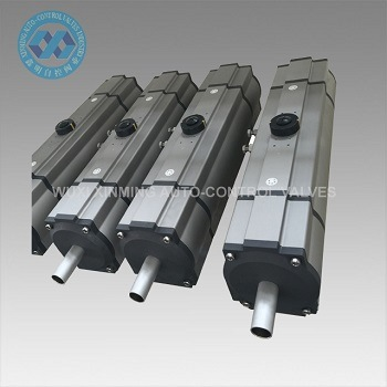 Three (3) Way Pneumatic Actuator for Rotary Valves
