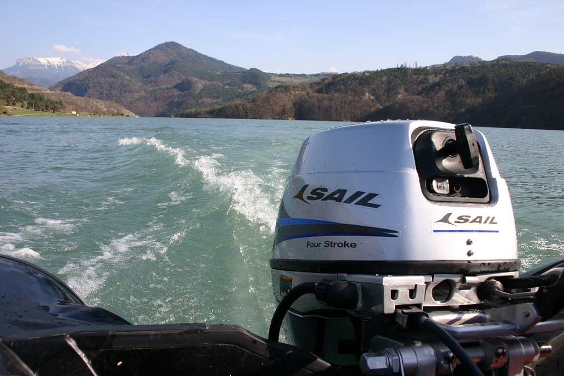 Sail 4 Stroke 15HP Outboard Motor / Outboard Engine