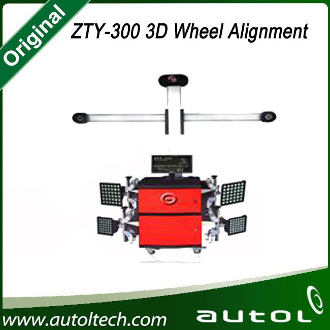 Zty-300m Automatic Tracking Deluxe Edition Instead of X-712 Launch Multilingual 3D Wheel Aligner/Ce Certificate Batter Than X-631 Wheel Aligner