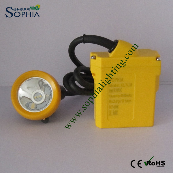 New 5W LED Headlamp, Head Lamp with 6600mAh Lithium Battery