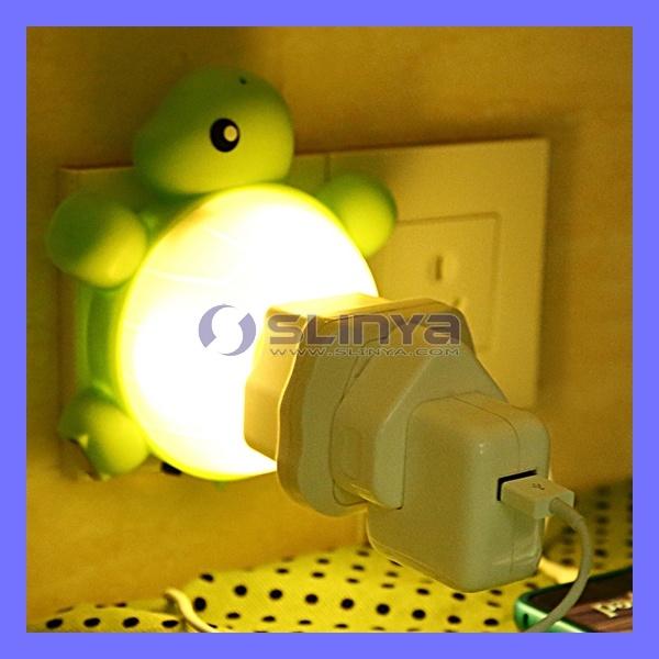 Mobile Charger LED Emergency Sound Control Smart Light Sensor Lamp