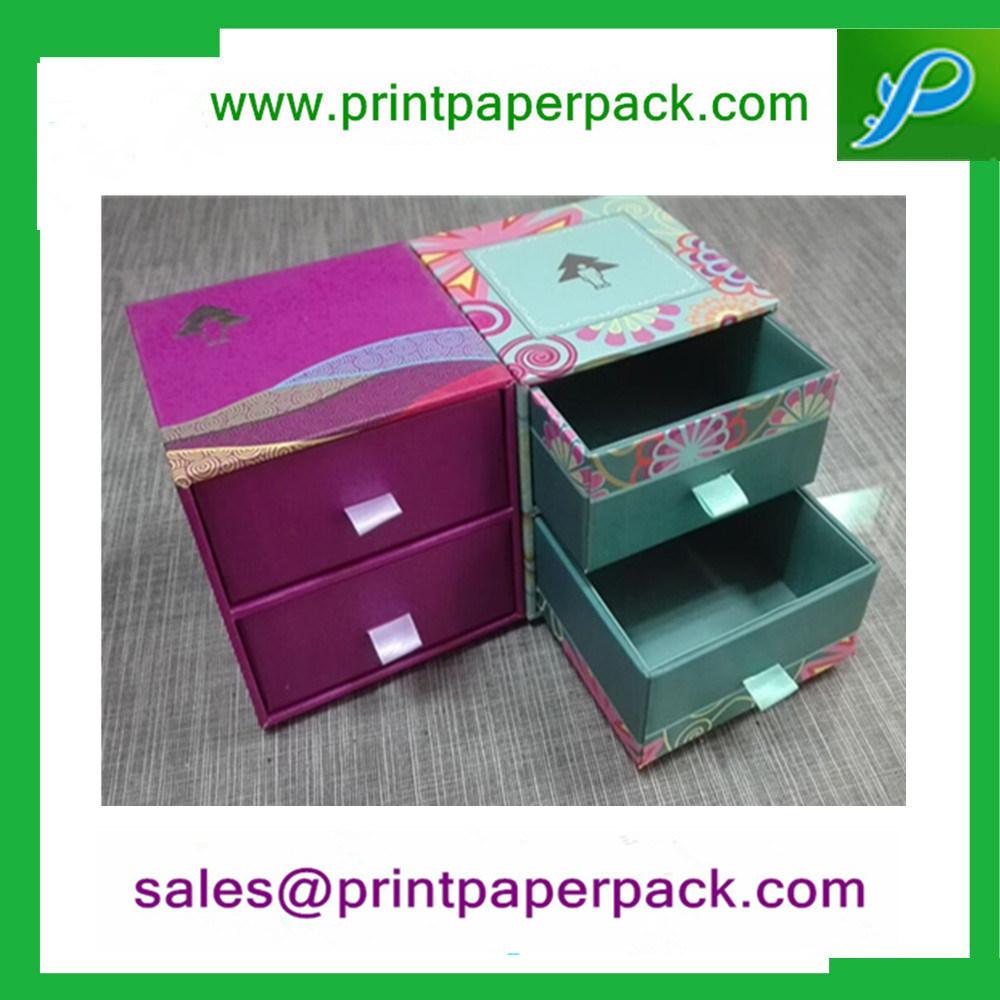 Bespoke Cosmetic Eyelash to Cream Packing Drawer Type Box