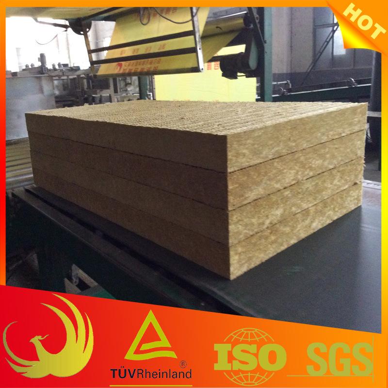 Thermal Insulation Fireproof Rock Wool Board