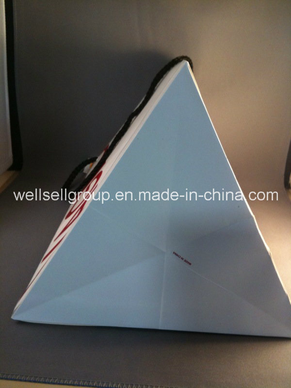 Triangle Paper Bag for Shopping