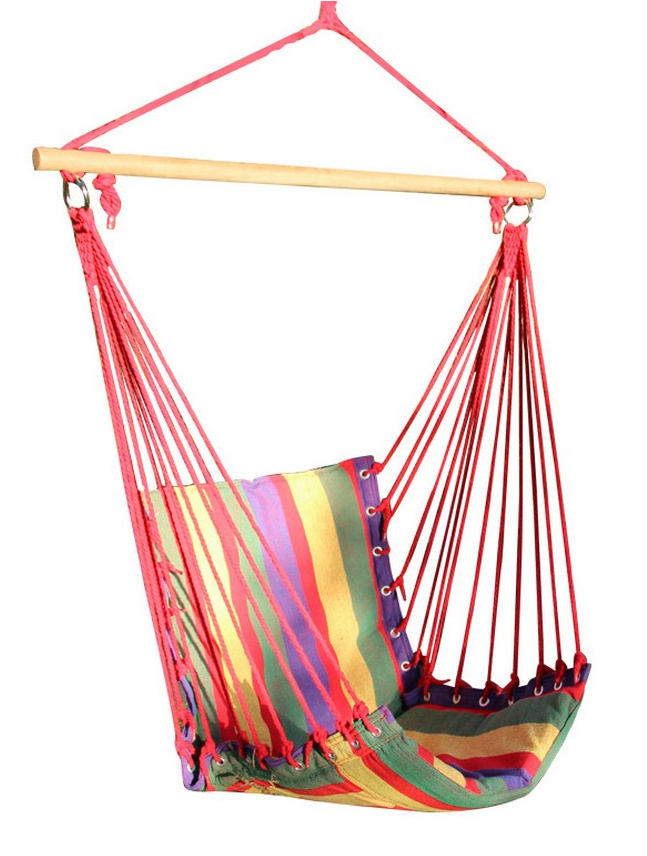 Cotton Fabric Canvas Hammock Swing Chair
