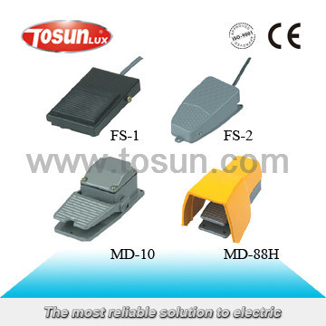 Industrial Foot Pedal Switch (Iron / Plastic)