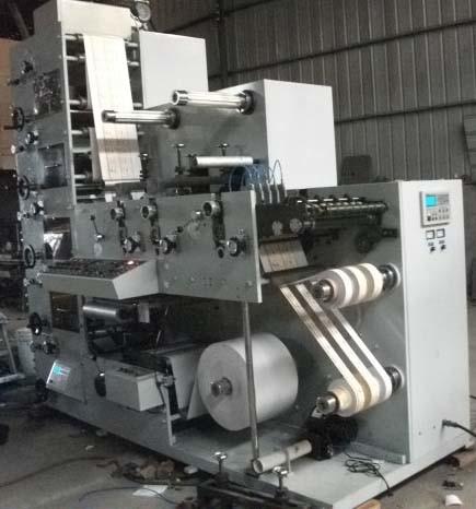 Automatic Flexo Printing Machine (RY-320B-5C)