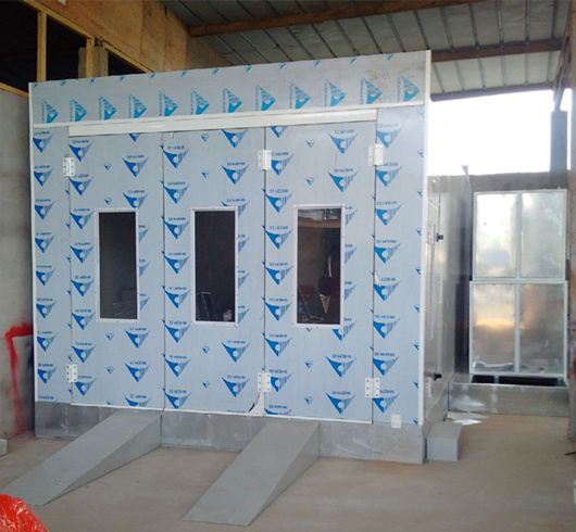 Car Spray Booth Auto Repair Equipments Paint Box
