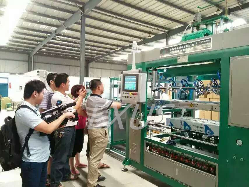Auto Fed High Quality High Speed Plastic Vacuum Thermoforming Machine