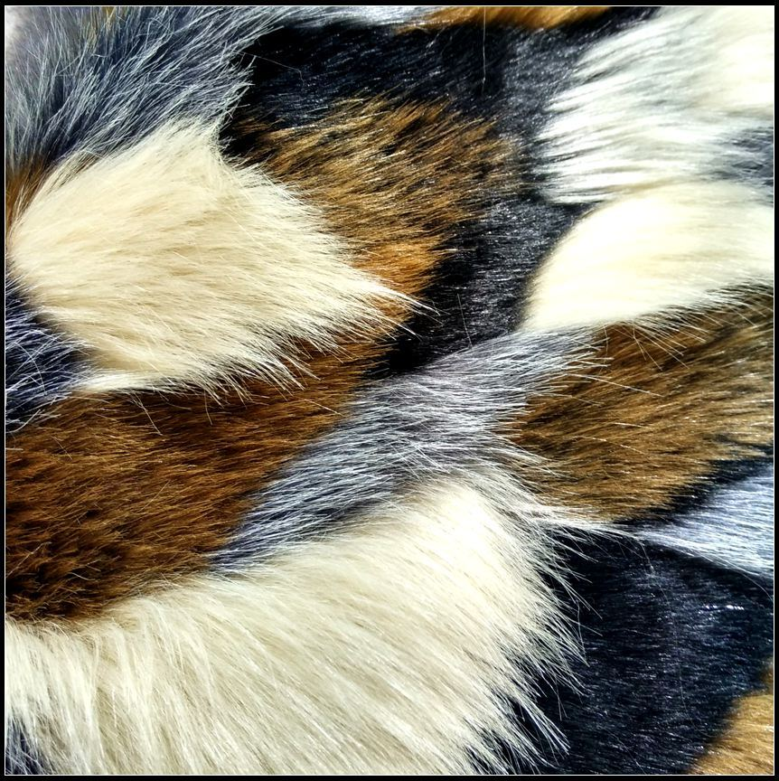 Artificial Fur Fabric with Long Plush