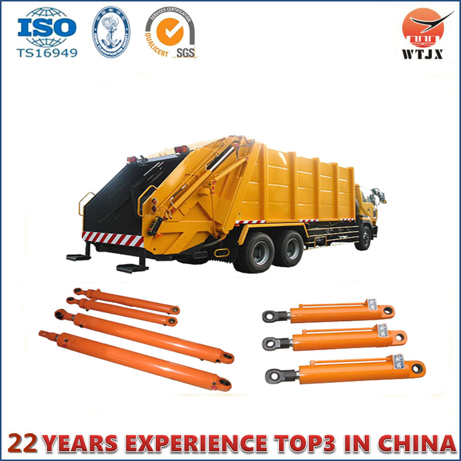 Customized Double Acting Hydraulic Cylinder for Garbage Truck