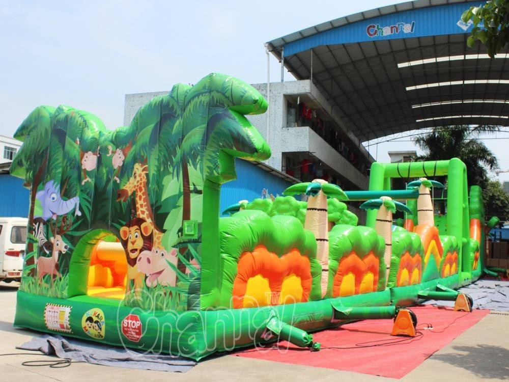 New Arrival Inflatable Forest Obstacle Course for Amusement Park (CHOB1107)