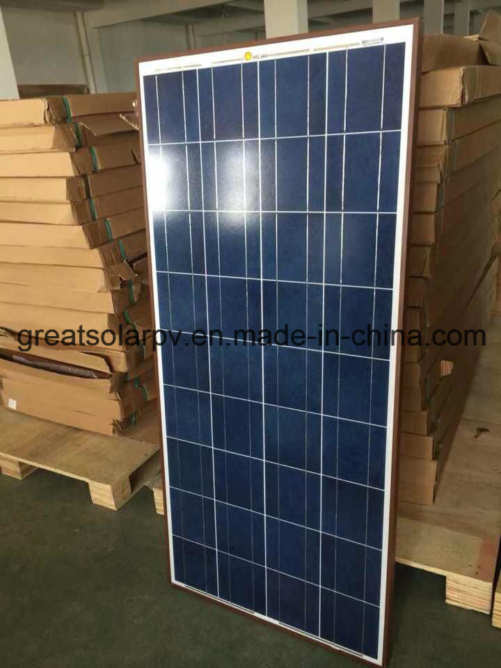 150W Poly Solar Panels with Excellent Price and Good Quality