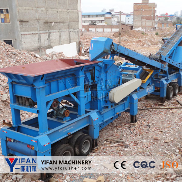Low Cost Construction Waste Recycling Machinery