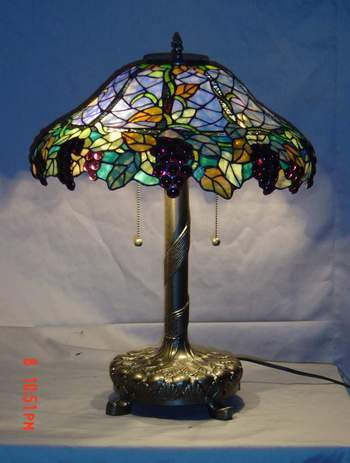 china tiffany grape table lamp t18091 china table lamps. Black Bedroom Furniture Sets. Home Design Ideas
