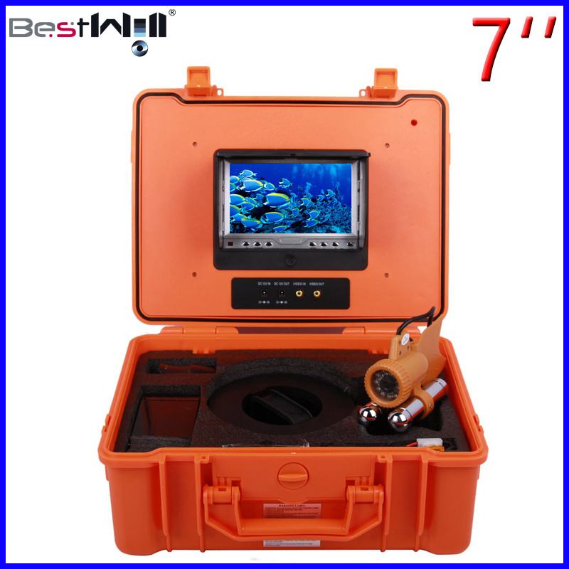 7′′ Digital Screen 20/300M cable Underwater Camera 7A