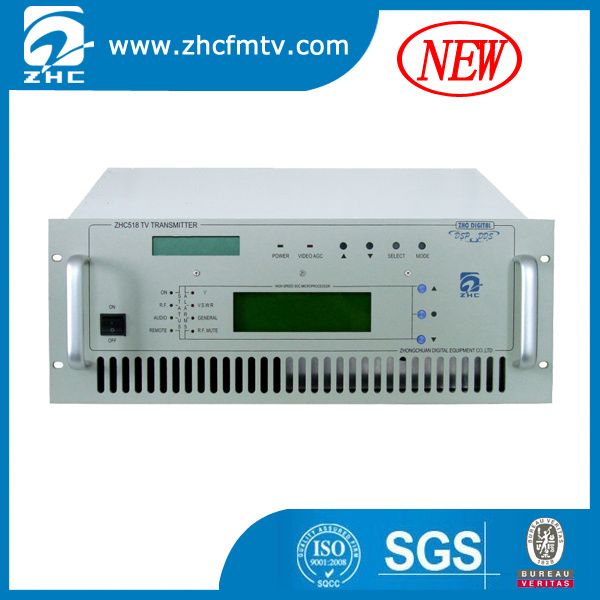 New Professional High Reliability Digital 50W TV Transmitter (ZHC518D-50W)