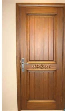 Solid Wooden Door for Entrance Fsc Certification Hard Wood Door Interior Door