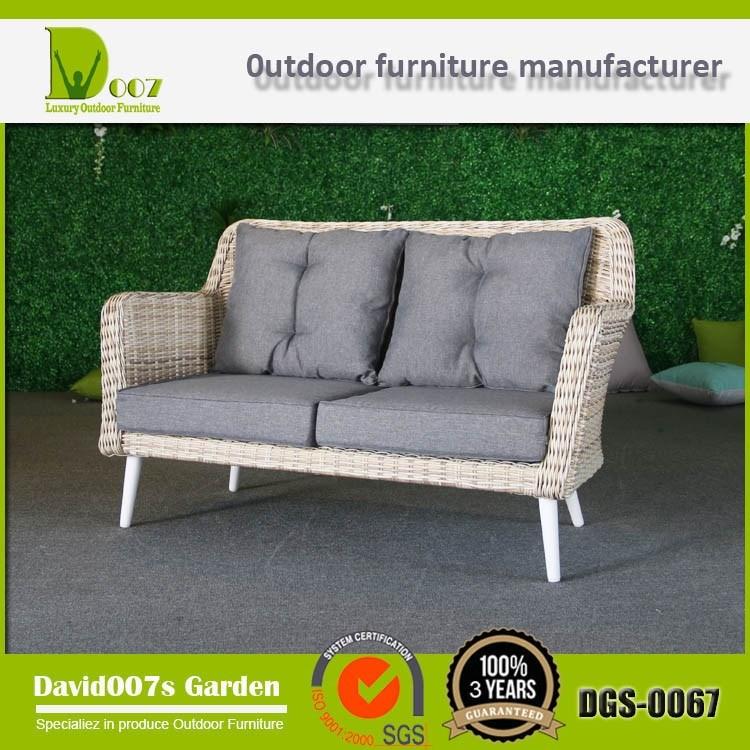 Top Quality Synthetic Rattan Outdoor Garden Furniture Cornor Sofa Set