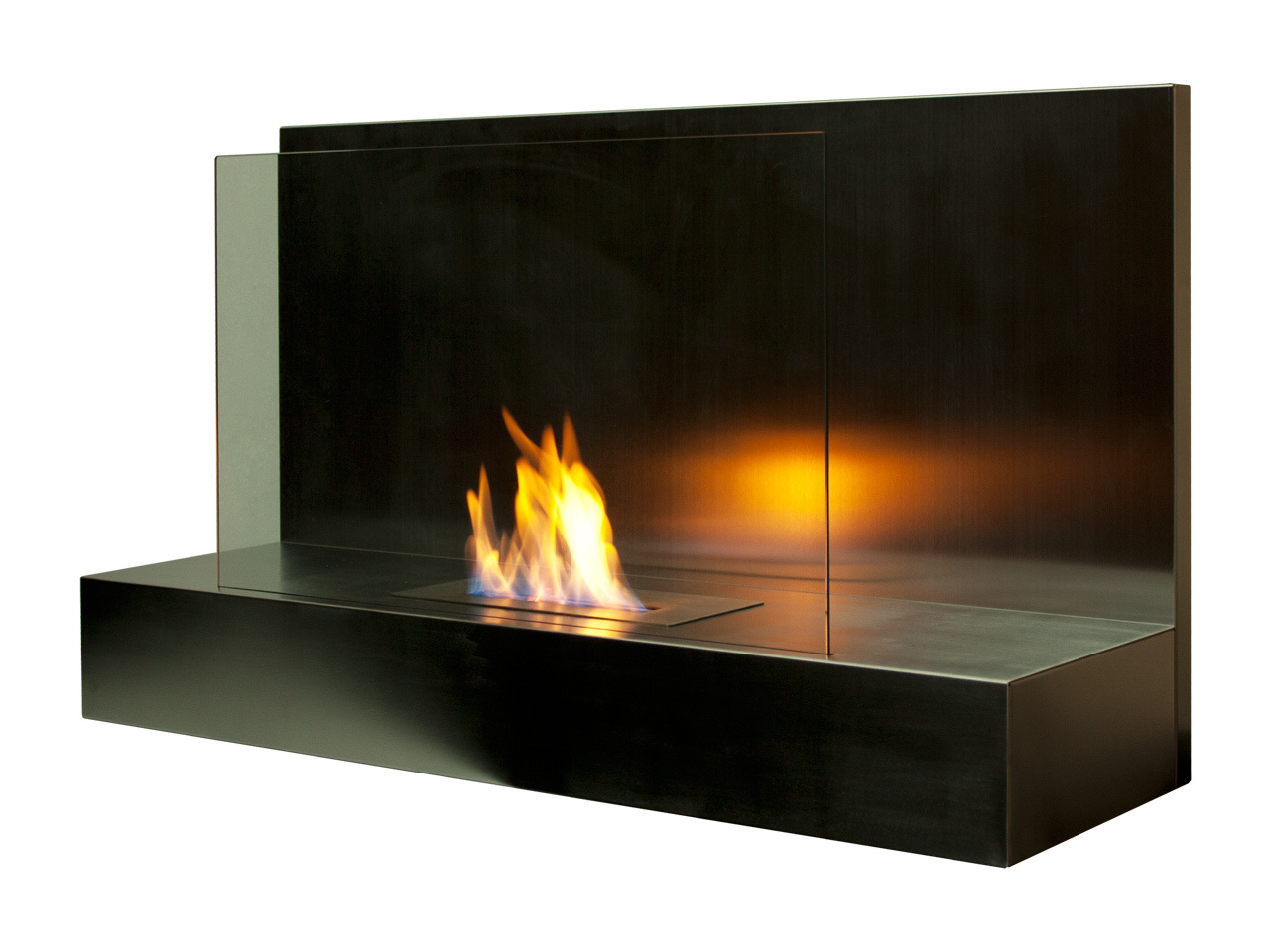 Bio Ethanol Fireplace Wall Mounted
